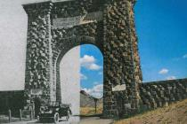 Yellowstone's North Gate